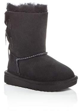 UGG Girls' Bailey Bow II Shearling Boots - Walker, Toddler