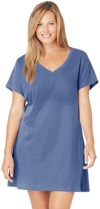 Jockey Plus Size Pajamas: Solid Sleep Shirt