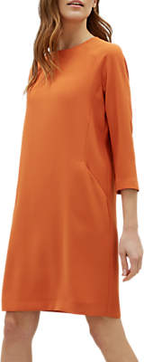 Jaeger Pocket Detail Crepe Dress