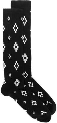 Marcelo Burlon County of Milan Cross socks