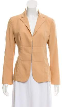CNC Costume National Peak-Lapel Lightweight Blazer