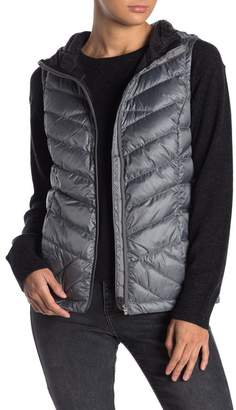 Lole Rose Quilted Packable Hooded Down Vest
