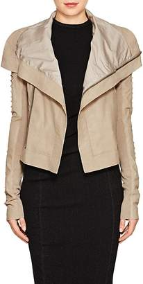 Rick Owens Women's Embellished Blistered Leather Biker Jacket