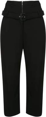 OSKLEN double waist cropped trousers