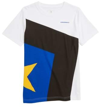 Converse Spliced Star Chevron T-Shirt