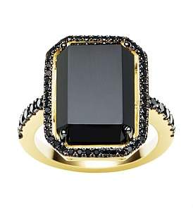 Black Diamond Jan Logan 18Ct Onyx La Rambla Ring