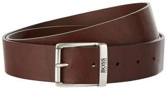 BOSS ORANGE Leather Buckle Belt