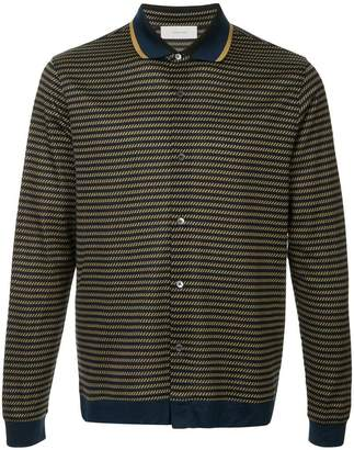 Cerruti geometric pattern shirt