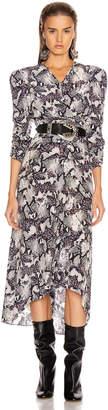 Isabel Marant Albi Dress in Chalk | FWRD