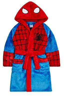 Mothercare Baby Boy's Spiderman Fluffy Bathrobe,M