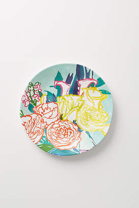 Bridgette Thornton Paint + Petals Melamine Dinner Plate