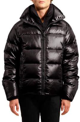 Logan The Very Warm Men's Water Repellant Puffer Jacket, Black