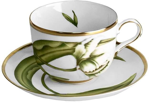 Anna Weatherley White Tulips Teacup