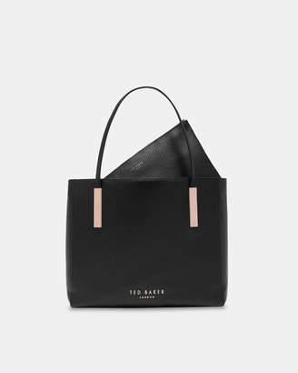 Ted Baker SARAHH Statement letters leather shopper bag