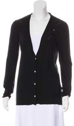 Sonia Rykiel V-Neck Button-Up Cardigan