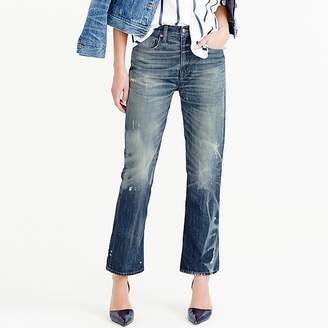 J.Crew Point Sur Stevie X-rocker jean in Mill Creek wash