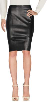 Yves Salomon Knee length skirts