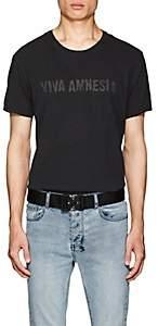 "Ksubi Men's ""Viva Amnesia"" Cotton T-Shirt - Black"