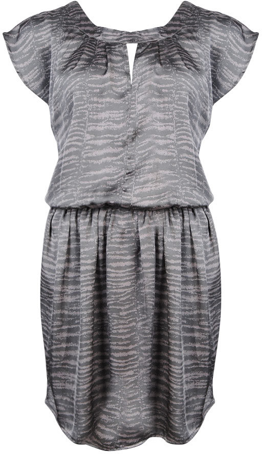 Love21 Satin Rope Belt Dress
