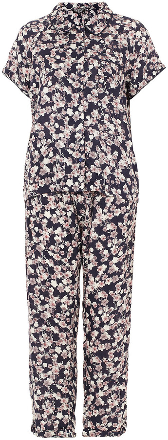 Topshop Shadow Jasmine Pyjama Set