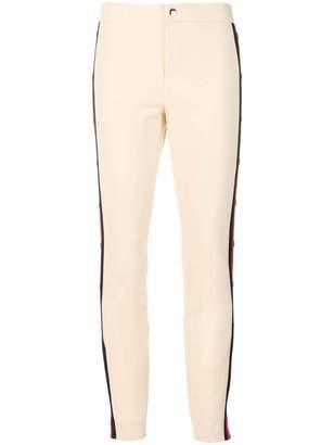 Gucci side striped slim trousers