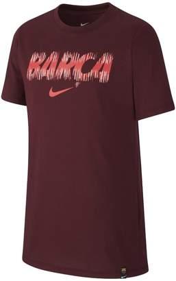 Nike FC Barcelona Dri-FIT Older Kids'(Boys') T-Shirt