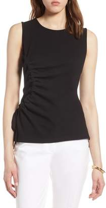 Halogen Ruched Tank Top