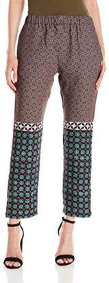 Clover Canyon Sportswear Women's Draped Woven Pant