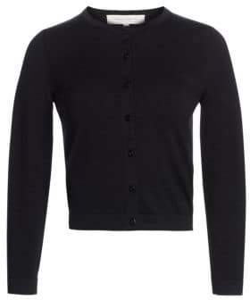 Carolina Herrera Silk-Blend Knit Cardigan