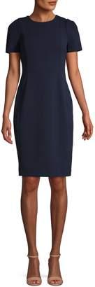 Calvin Klein Puff-Sleeve Sheath Dress
