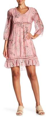 Lola Made In Italy Floral Babydoll Dress