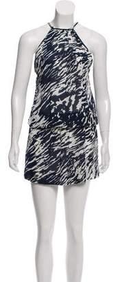 Nili Lotan Silk Sleeveless Dress