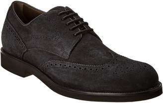 Tod's Suede Wingtip Oxford
