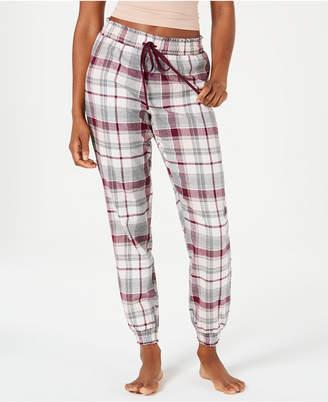 Macy s Jenni Printed Cotton Woven Knit Pajama Pants 2bf993621