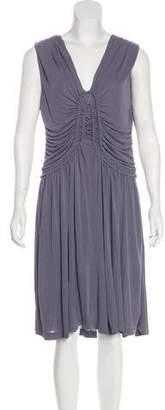 Fendi Draped Midi Dress w/ Tags