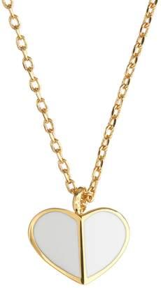Kate Spade Heritage Spade Goldtone Pendant Necklace