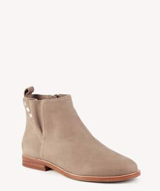 Sole Society Barbora Pleated Flat Bootie