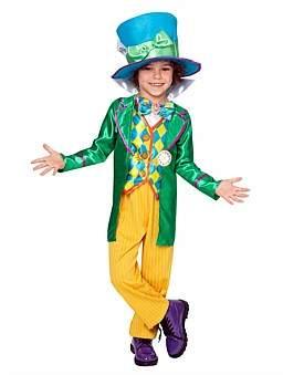 Deerfield Mad Hatter Deluxe Boy Costume 3-5