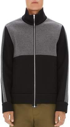 Helmut Lang Sponge Fleece Color-Block Track Jacket
