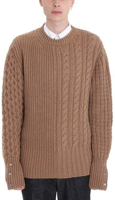 Thom Browne Camel Wool Sweater