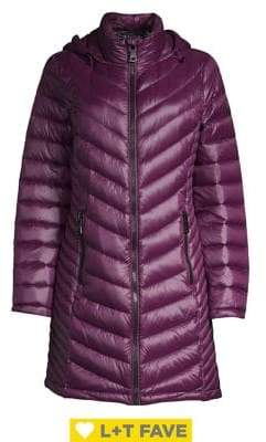 Calvin Klein Long Packable Puffer Coat