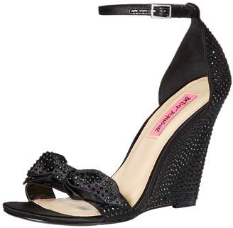 Betsey Johnson Women's DELANCYY Wedge Sandal