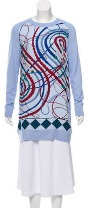 Hermes Les Cannes Knit Tunic