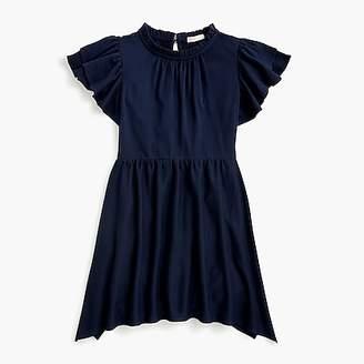 J.Crew Girls' flutter-sleeve dress
