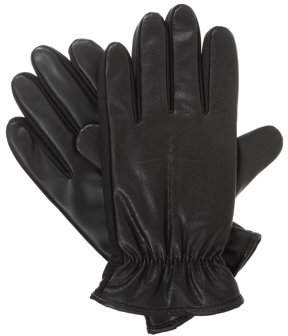 Isotoner Men's smarTouch Touch Screen Faux Nappa Gloves