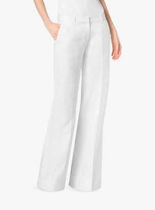 Michael Kors Linen Wide-Leg Trousers $120 thestylecure.com