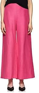 Simon Miller Women's Heliconia Silk-Linen Wide-Leg Pants - Pink
