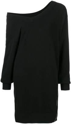 Alexander Wang one-shoulder slit dress