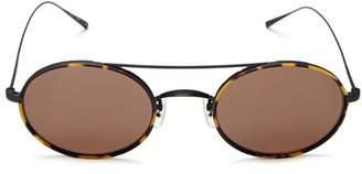 Oliver Peoples Women's Shai Brow Bar Oval Sunglasses, 48mm