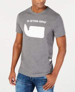 G Star Raw Men's Whale Logo T-Shirt, Created for Macy's